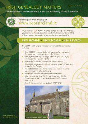 RootsIreland Newsletter