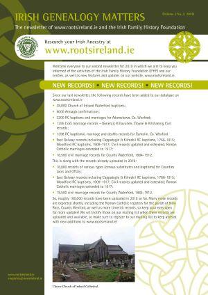 RootsIreland Newsletter Volume 2 No 2